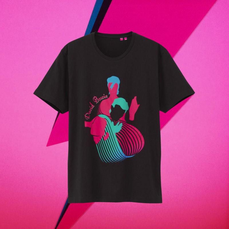 David BowieのユニクロTシャツ