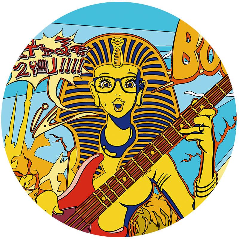 BETONESのエジプトパンツデザイン
