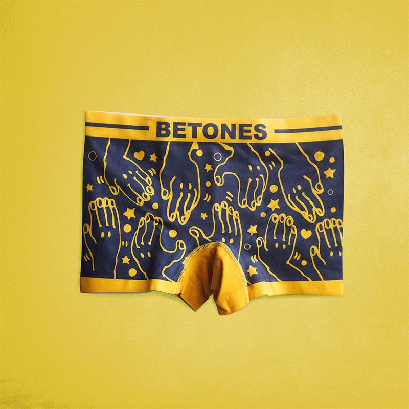 BETONESの手のデザイン