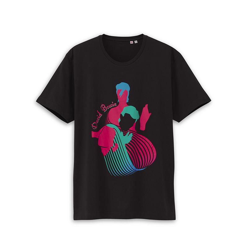 デヴィッド・ボウイのユニクロTシャツデザイン