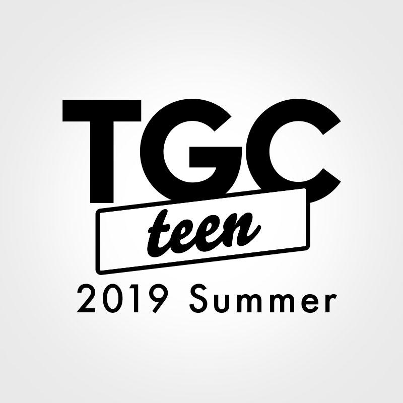 TGC teenのロゴデザイン